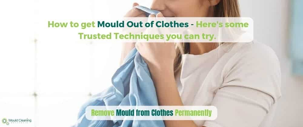 How to get mould smell out of clothes
