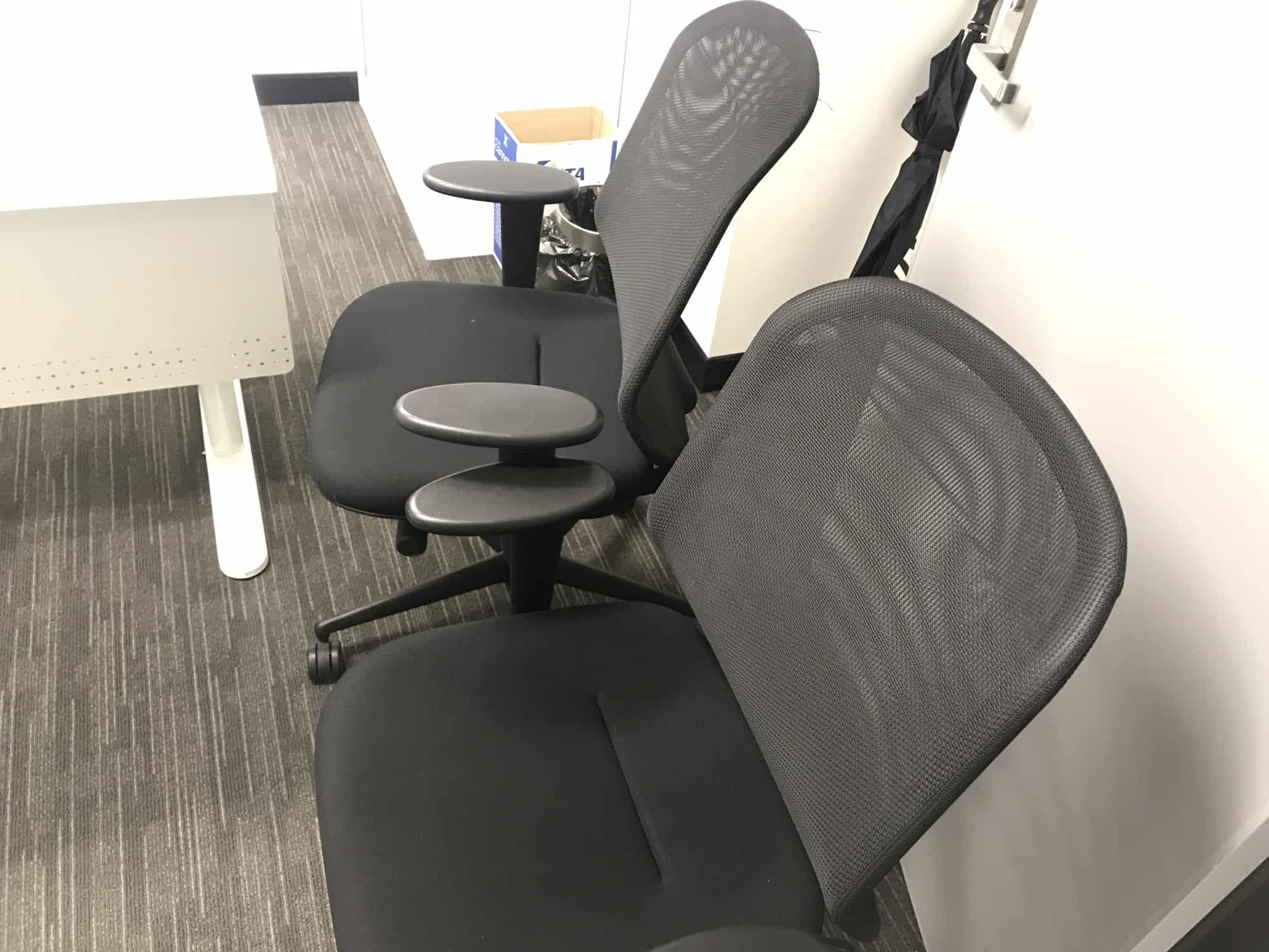 mould restoration office chair