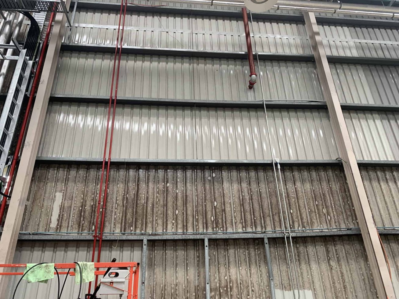 corrugated walls mould