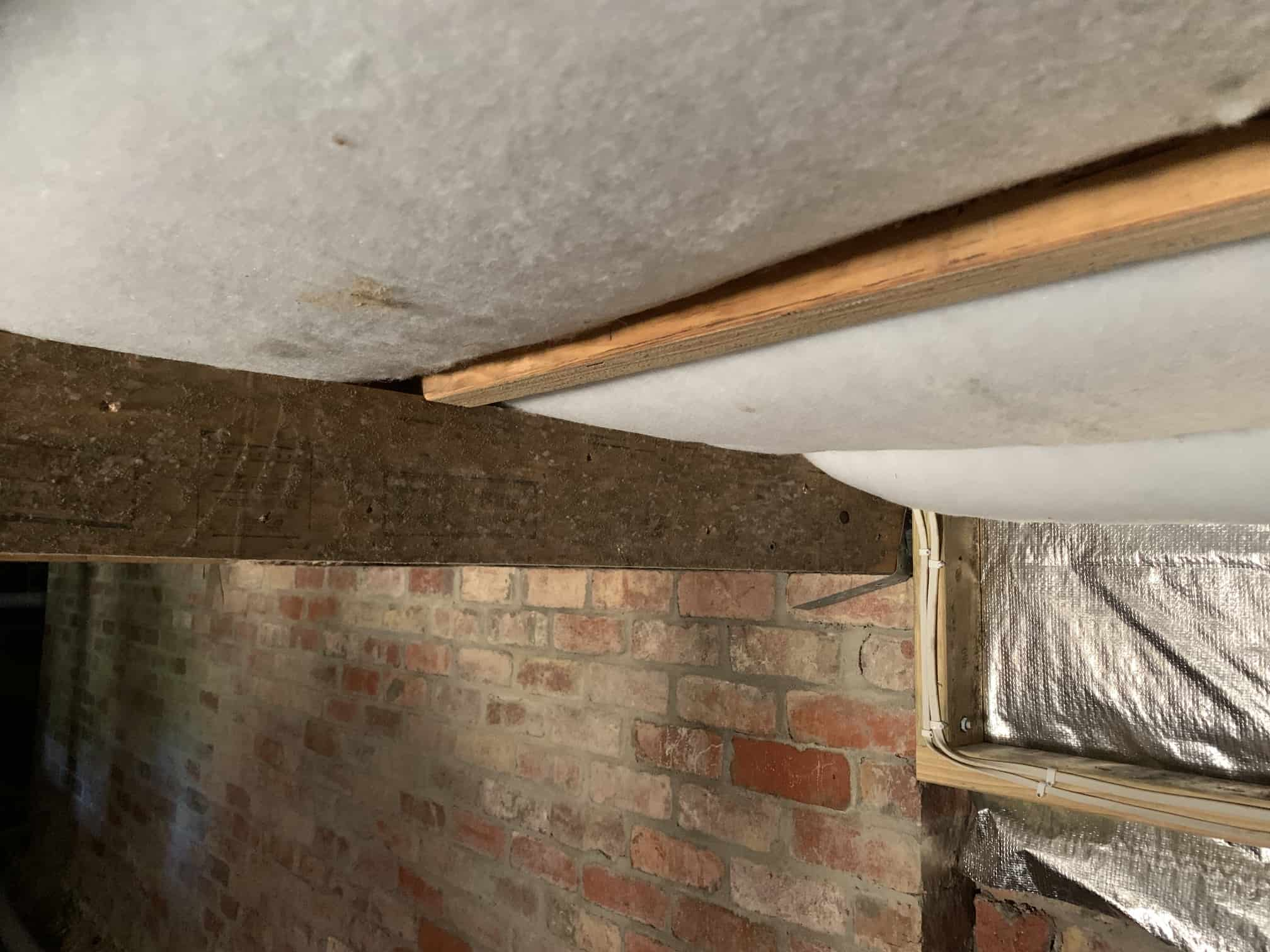 insulation on ceiling