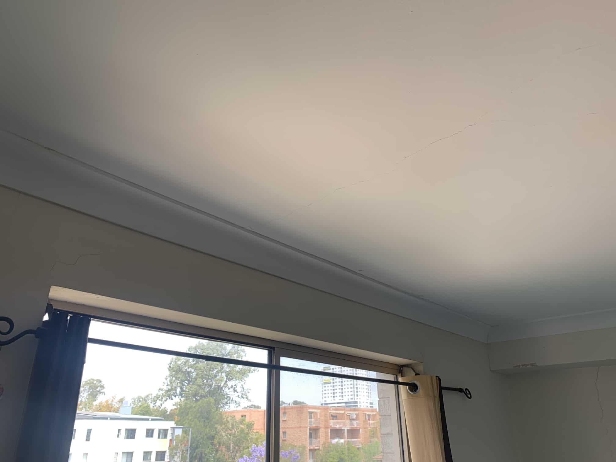 mould restoration bedroom ceiling