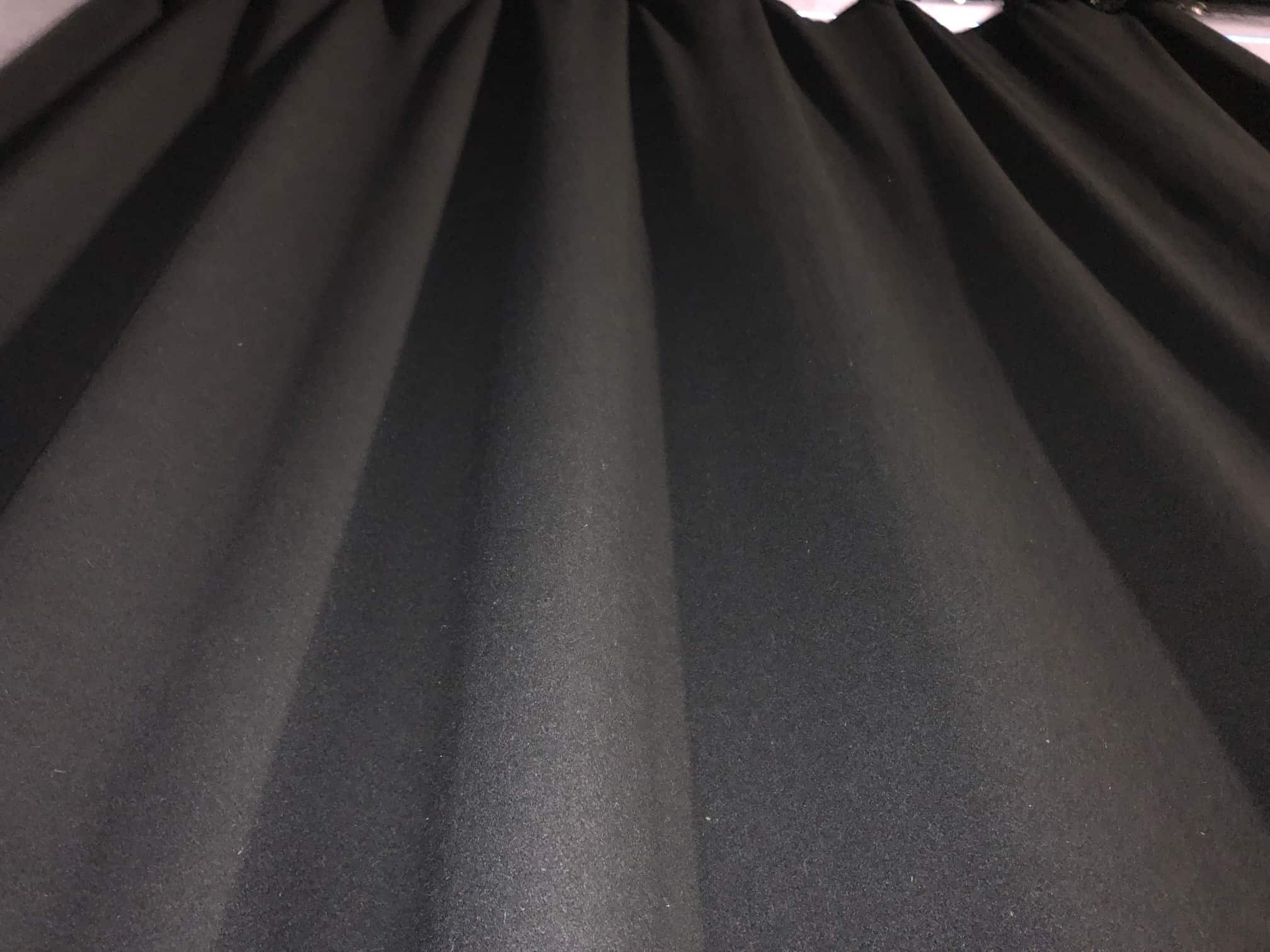 mould covered curtains